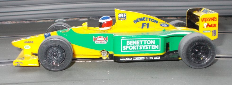 Scalextric Benetton B192 / B193 Carrera Digital